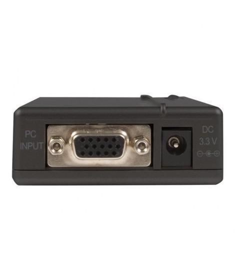 STARTECH.COM Convertisseur haute résolution VGA vers Composite ou S-Video