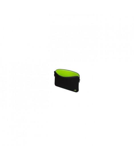 Housse pour MacBook 12 - LA Robe Addited Black/Wasabi