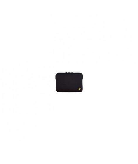 Housse pour MacBook Air/Pro 13 - LA Robe Addited Black/Lemon