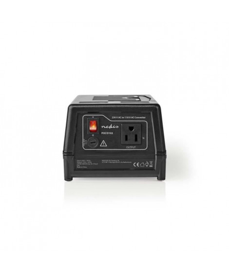 NEDIS Convertisseur d'alimentation 230 V c.c. - 110 V c.a. - 300 W