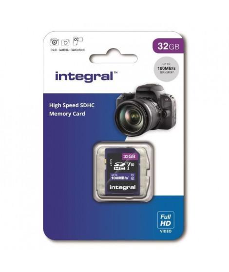 INTEGRAL MEMORY V10 Class 10 UHS-I U1 Carte SDHC 32GB