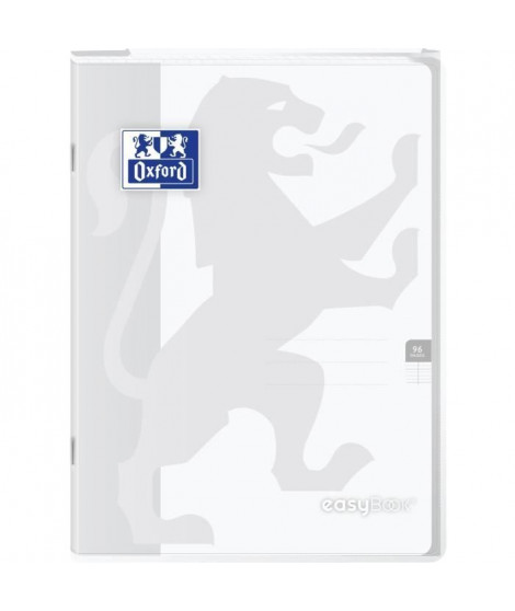 OXFORD - Cahier Easybook agrafé - 21 x 29,7 cm 96p seyes - 90g - Incolore