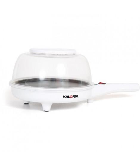 KALORIK TKGPCM1002WNYC Appareil a popcorn 2 en 1 - 800 W - Usage Poele a frire - Blanc
