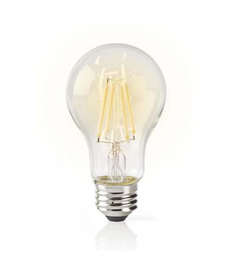 NEDIS Ampoule LED intelligente WiFi - Filament - E27 - Blanche - A60