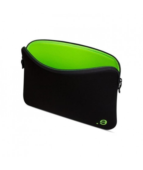 Housse pour MacBook Pro 13 - LA Robe Addited Black/Wasabi