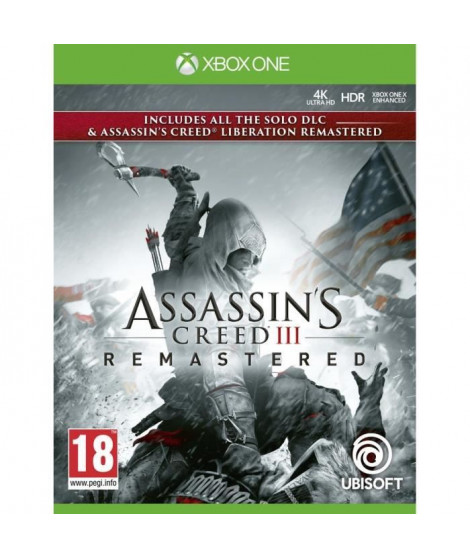 Pack Assassin's Creed 3 + Assassin's Creed Liberation Remaster Jeux Xbox One