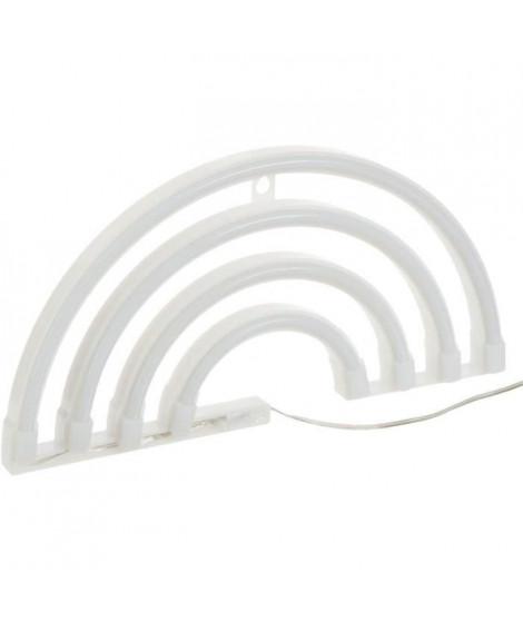 Applique arc en ciel LED Néon - L. 28 cm - Multicolore