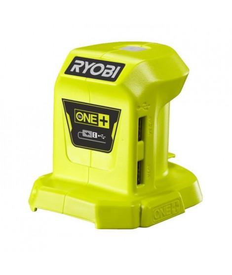 RYOBI R18USB - 0 - Chargeur USB 18 Volts ONE+ (2 ports USB)