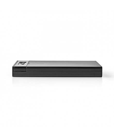 NEDIS Boîtier de Disque dur - 2,5 - Connexion SATA III - USB 3.1 - 6 Gbit/s