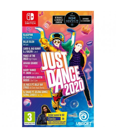 Just Dance 2020 Jeu Switch