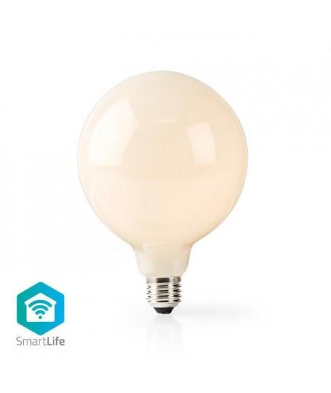 NEDIS Ampoule LED Intelligente Wi-Fi - E27 - 125 mm - 5 W - 500 lm - Blanc