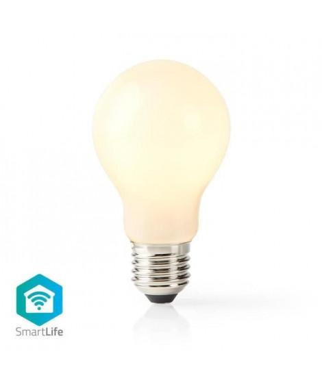 NEDIS Ampoule LED Intelligente Wi-Fi - E27 - 5 W - 500 lm - Blanc