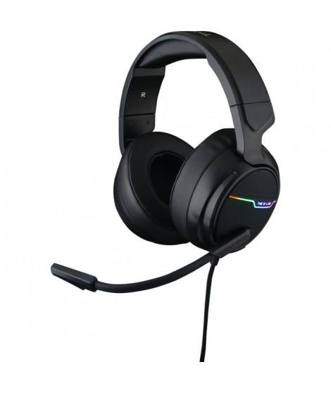 THE G-LAB Korp Thallium Casque avec micro Gaming - 7.1 Digital Sound - Compatible PC, PS4
