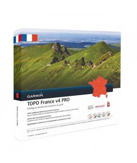 GARMIN Carte Topo France V5 Pro