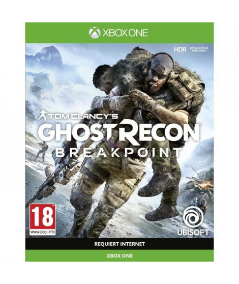 Ghost Recon BREAKPOINT Jeu Xbox One