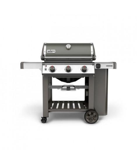 WEBER Barbecue a gaz Genesis II E-310 GBS - Fonte d'acier émaillée - Gris fumée
