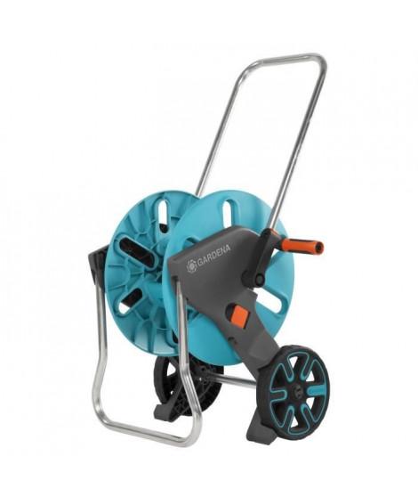 GARDENA Dévidoir sur roues Aquaroll M - Fonction Kick&Stand