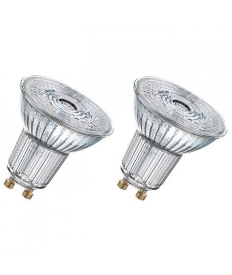 OSRAM Lot de 2 Ampoules Spots LED PAR16 GU10 2,6 W équivalent a 35 W blanc chaud