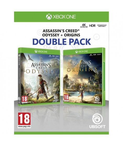 Compilation Assassin's Creed Origins + Assassin's Creed Odyssey Jeux Xbox One