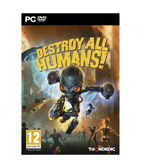 Destroy All Humans sur PC, un jeu Action pour PC disponible chez Micromania !