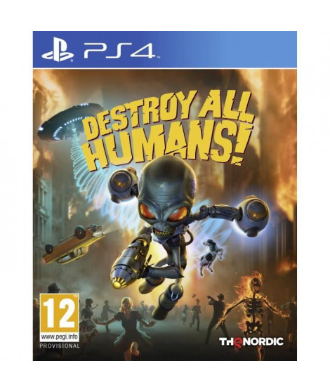 Destroy All Humans sur PS4, un jeu Action pour PS4 disponible chez Micromania !