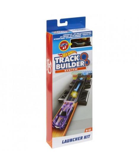 HOT WHEELS - Kit Lanceur - Kit pour circuit voitures : comprend 1 véhicule, 2 segments de piste et 1 booster