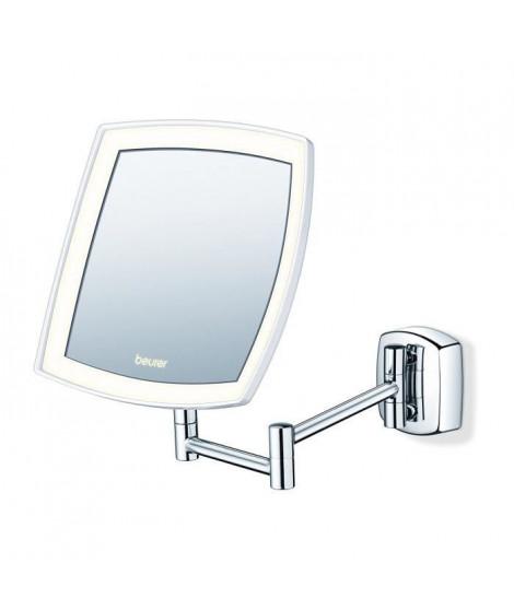 Miroir mural pour maquillage miroir grossissant éclairage LED Beurer BS 89:  Beauté et Parfum