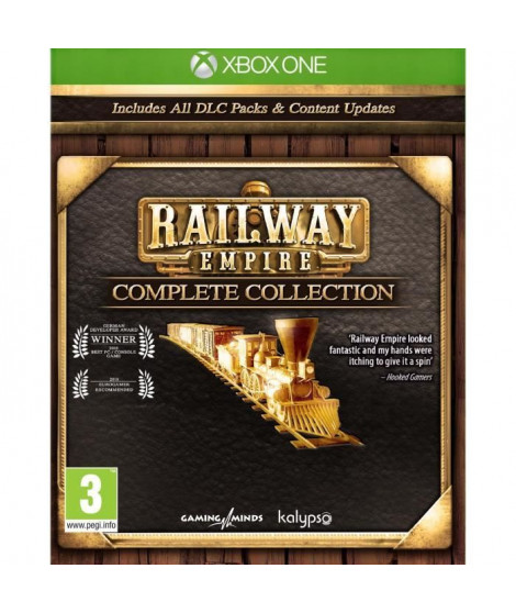 Railway Empire Complete Collection Jeu Xbox One