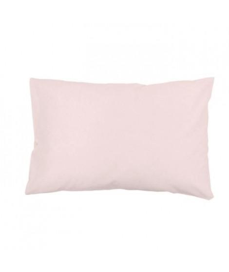 SOLEIL d'OCRE Lot de 2 Taies d'oreiller 100% Coton 50x75 cm Rose