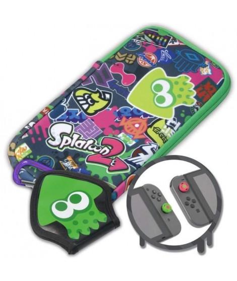 Kit de protection Splatoon 2 pour Switch