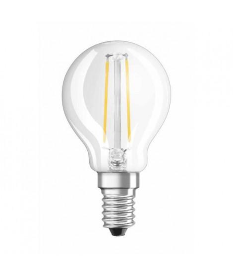 OSRAM Ampoule filament LED E14 2 W équivalent a 25 W blanc chaud