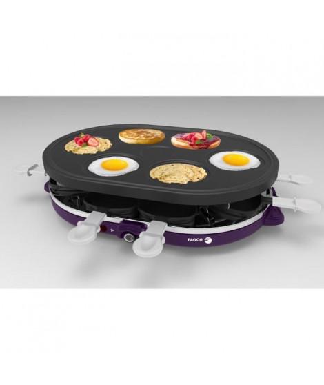 FAGOR - FG075 - raclette + crepiere