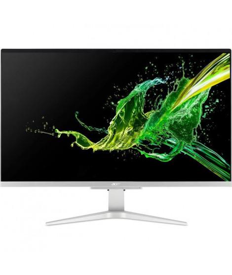 Ordinateur Tout-en-un - Aspire C27-962 - 27 FHD - Intel Core i5-1035G1 - RAM 8Go - 1To HDD - GeForce MX130 - Windows 10 - Argent