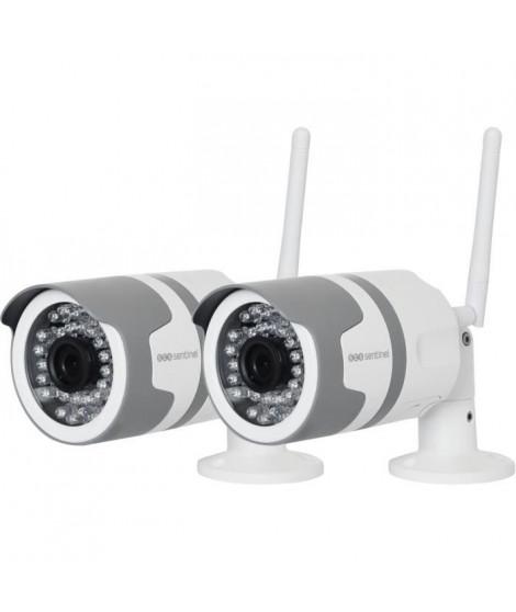 SCS SENTINEL Lot de 2 caméras extérieures - WifiEye HD Outdoor