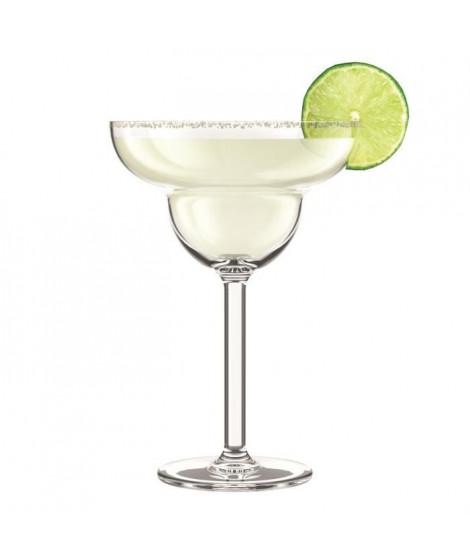 BODUM - OKTETT - 4 Verres a Margarita en plastique - Incassable - Réutilisable - 0.25l
