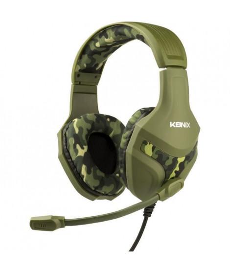 Casque Konix PS-400 Camouflage pour PS4