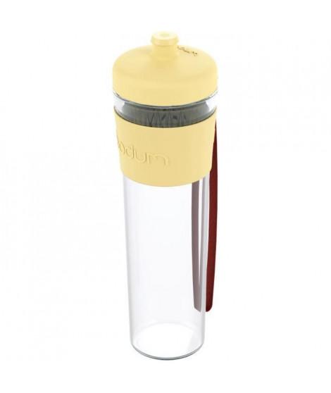 BODUM BISTRO Gourde a emporter - Plastique - 0,5 L - Jaune pastel