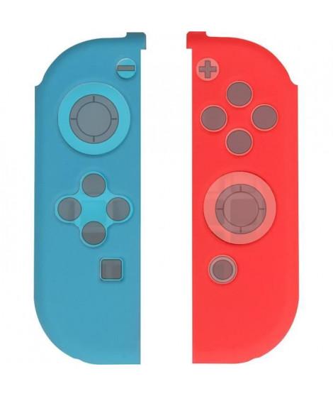 2 Grips en silicone Konix pour Joy Con Switch