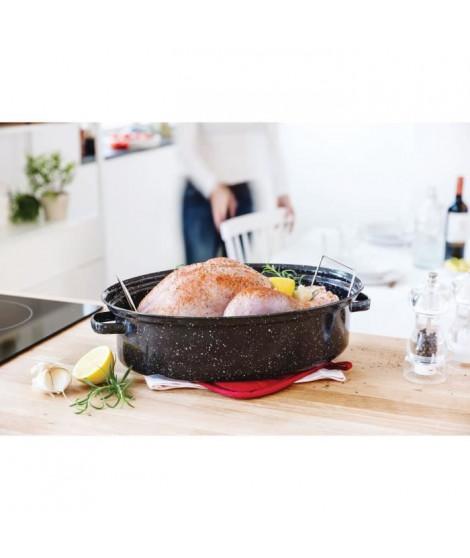 BEKA Cocotte Roasty Cook - Ø 34 cm  - Noir
