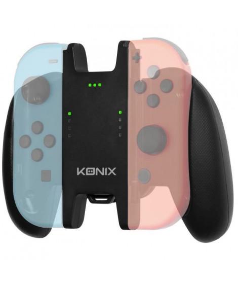 Accessoire Support Manette + Batterie Konix Play & Charge pour Joycon Switch
