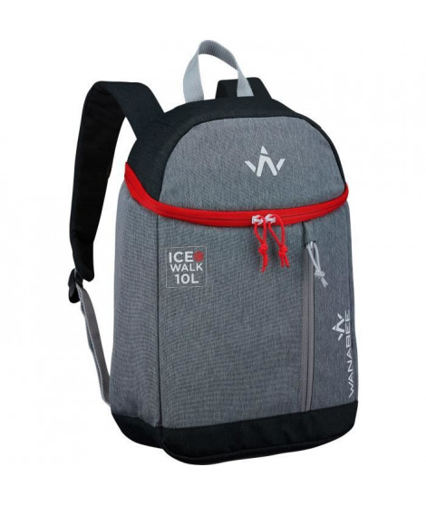 WANABEE Sac a dos isotherme Ice Walk 10L - Gris