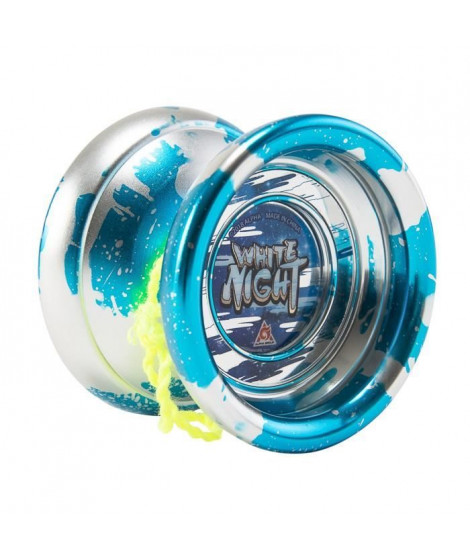 BLAZING TEAM Yo-yo métal Votex Master Niveau 4 - White Night