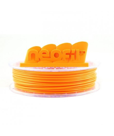 Neofil3D Cartouche de filament PLA - 2,85mm - Orange - 750 g