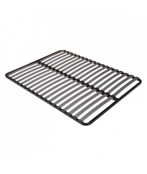 SEDAC Sommier 160x200 - 18 Lattes 53mm - Anthracite