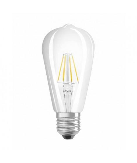 OSRAM Ampoule filament LED E27 6 W équivalent a 60 W blanc chaud