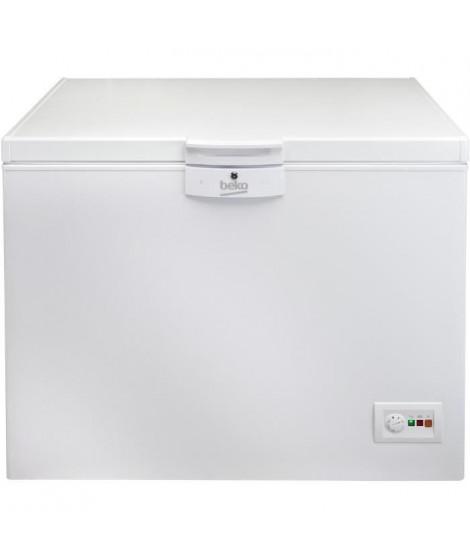 BEKO - HSA32530N - Congélateur coffre - 298 L  - MinFrost - A+ - Blanc
