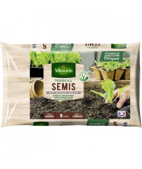 VILMORIN Terreau semis bouturages 5 L
