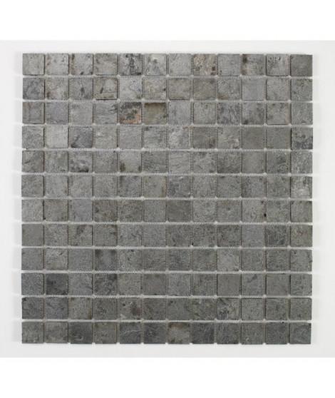 U-TILE Mosaique en pierre naturelle 100 x 50 cm - carreau 2,5 x 2,5 cm - bronze ocean