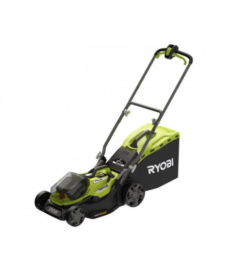 Tondeuse RYOBI 18V LithiumPlus Brushless coupe 37cm - 1 batterie 5,0 Ah - 1 chargeur rapide - RY18LMX37A-150