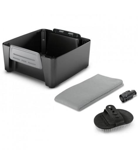 KARCHER Kit animaux - Accessoire associé au nettoyeur mobile OC3 - Une buse, une brosse et une serviette